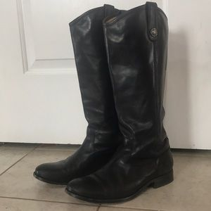 Frye Melissa Boots- Size 8.5 Extended Calf